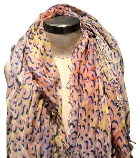 Louis Vuitton Stephen Sprouse Rose Spray leopard stole