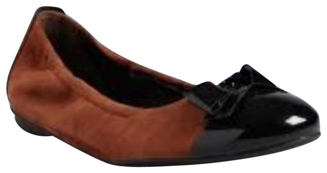 Item - Brown and Black Nillie Flats Size US 7 Regular (M, B)