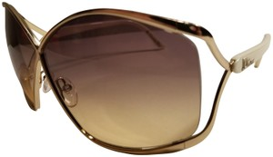 Dior Very Dior GRMFI Gold White Christian Dior Sunglasses