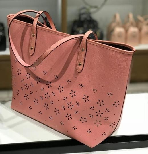 Coach Shoulder 36126 36609 City Tote in pink Image 6