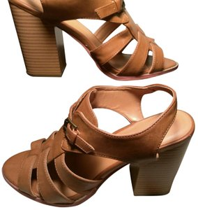 Maurices Caramel Brown Wedges