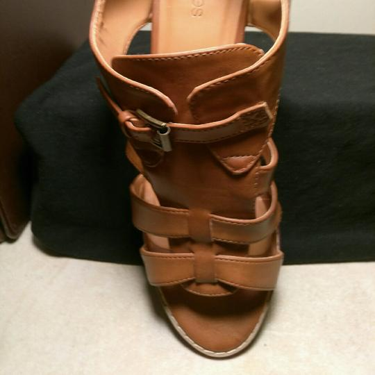 Maurices Caramel Brown Wedges Image 3