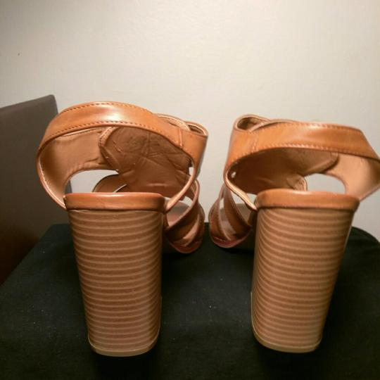 Maurices Caramel Brown Wedges Image 4