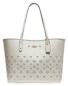 Coach Shoulder 36126 36609 City Tote in white