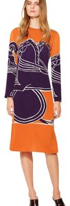 Tory Burch short dress orange on Tradesy