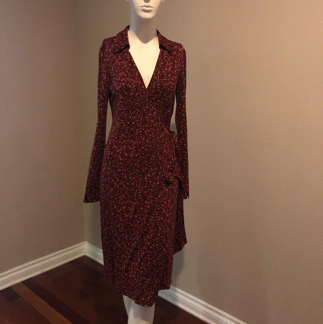 Item - Multi-color Dvf Mid-length Casual Maxi Dress Size 6 (S)