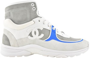 Chanel Trainer Sneaker Classic Logo High white Athletic