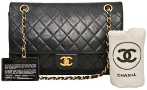 Chanel Quilted Lambskin Double Flap Shoulder Bag - item med img