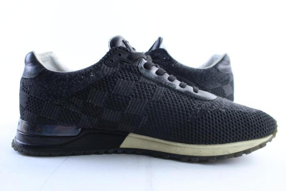 952f2fc8350 Louis Vuitton Black Damier Graphite Runaway Trainer (Mens 9 / Womens 11)  37lr0515 Sneakers Size US 11 Regular (M, B) 51% off retail