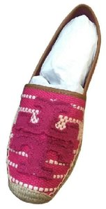 Tory Burch Spring Espadrille New Summer New Spring Summer Beach Spring Beach pink Flats