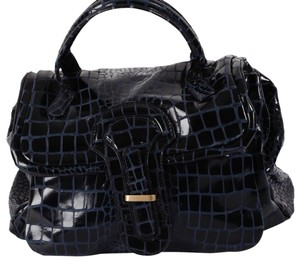 Desmo Large Satchel in Black