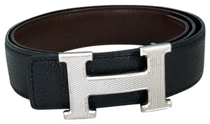 Hermès Hermes Reversible Leather Belt
