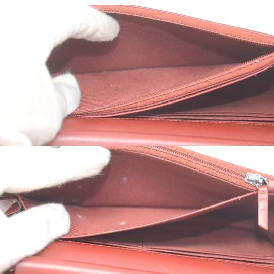 Chanel Patent Leather Shoulder Red Clutch Image 8