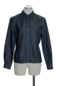 Liberté by Emanuel Button Down Shirt BLUE