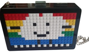 Mira Mikati So Different Doy Or Night Lego Blocks Colorful black/white/yellow/green Messenger Bag