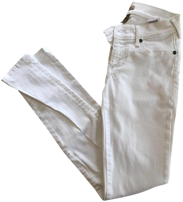 Item - White Casey Low Rise Super Skinny Jeans Size 25 (2, XS)