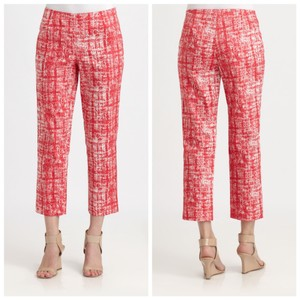 Lafayette 148 New York Capris red