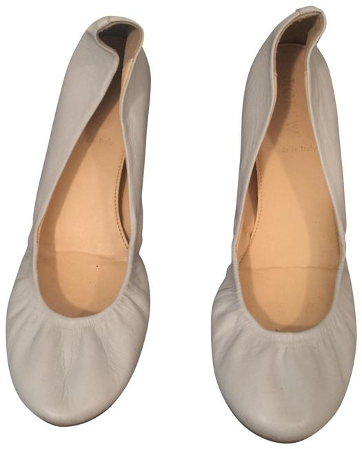 Item - Light Grey Ballet Flats Size US 7.5 Regular (M, B)