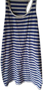 Faded Glory Top Blue & White