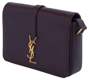 Saint Laurent Ysl Monogram Leather Universite Cross Body Bag