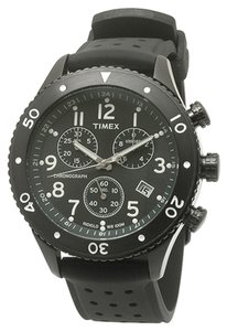 Timex Timex Male Dress Watch T2M708 Black Chronograph