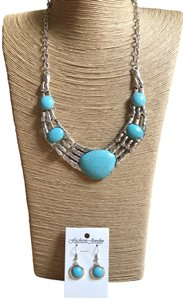Fashion Jewelry For Everyone Gorgeous 2 piece-Native American- Necklace and earring set!