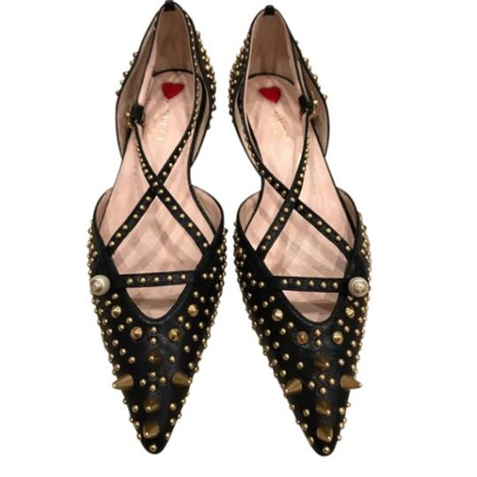 Preload https://img-static.tradesy.com/item/23373008/gucci-black-gucciunia-gold-studded-spike-ballet-point-slide-mule-sold-out-everywhere-flats-size-us-6-0-1-540-540.jpg
