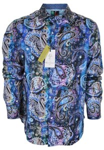 Robert Graham Shirt Men's Shirt Button Down Shirt Dry Creek