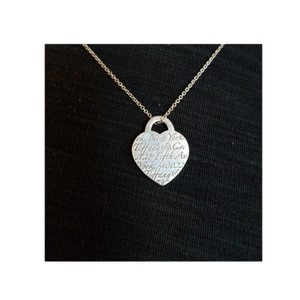 Tiffany & Co. 5th Ave Notes Heart Pendant