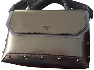 Guess Modern Studded Leather New With Cross Body Bag