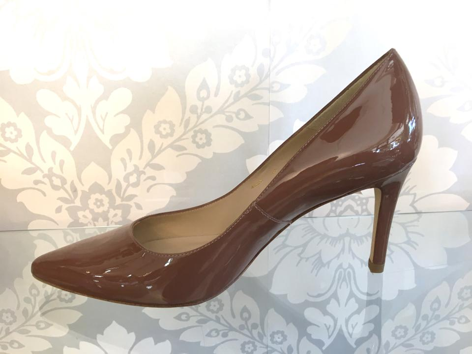 92f20ad1ab9c L.K. Bennett Brown L Dark Nude Patent Leather Pumps Size EU 39 (Approx. US  9) Regular (M, B) - Tradesy