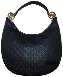 Gucci Made In Italy Guccissima Leather Hobo Bag