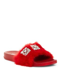 Chase & Chloe red Sandals