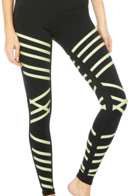 Preload https://img-static.tradesy.com/item/23374530/alo-black-and-neon-activewear-bottoms-size-8-m-29-30-0-1-650-650.jpg