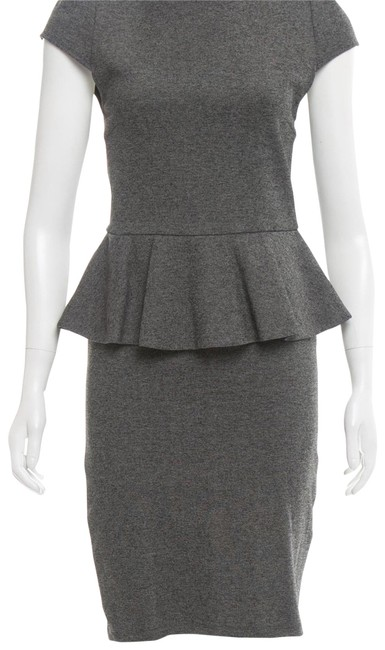 Preload https://img-static.tradesy.com/item/23374721/alice-olivia-grey-and-peplum-mid-length-workoffice-dress-size-2-xs-0-1-650-650.jpg