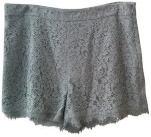 Diane von Furstenberg Lace Dvf Dress Shorts Gray