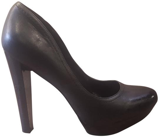 Jessica Simpson Black Platforms Image 0