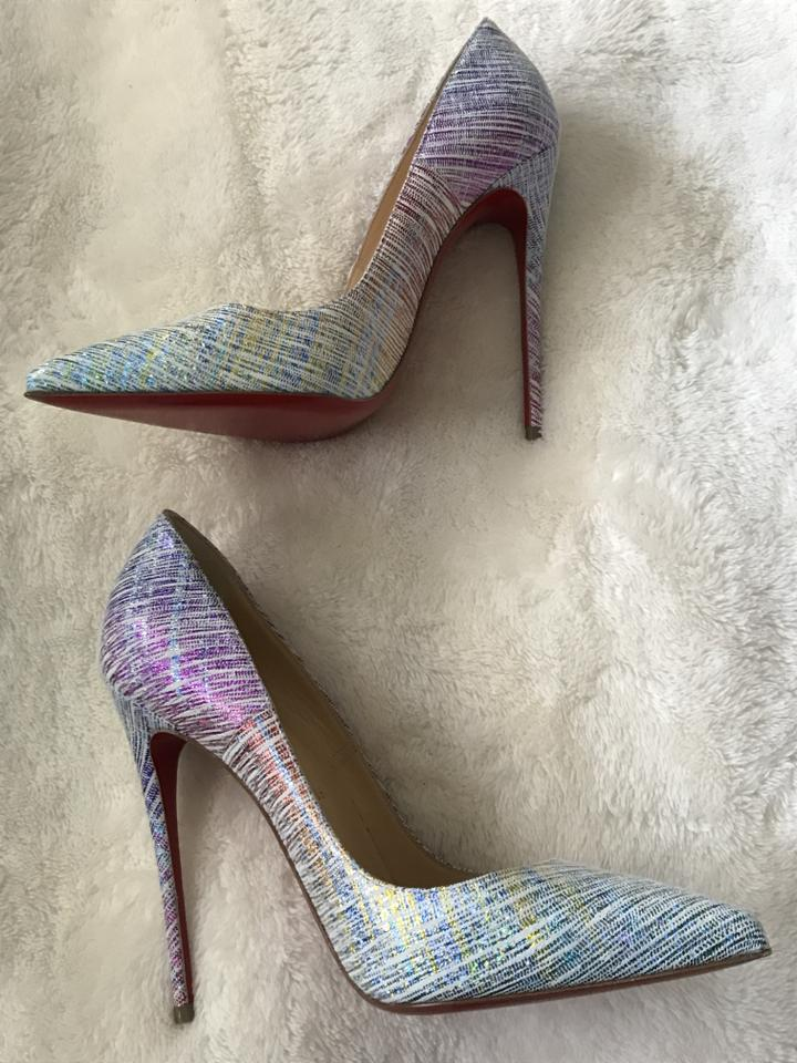 Christian Sole Ombré So Kate Pumps Louboutin Red rnC0Br
