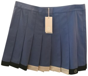 Tory Sport by Tory Burch color-block pleated skirt
