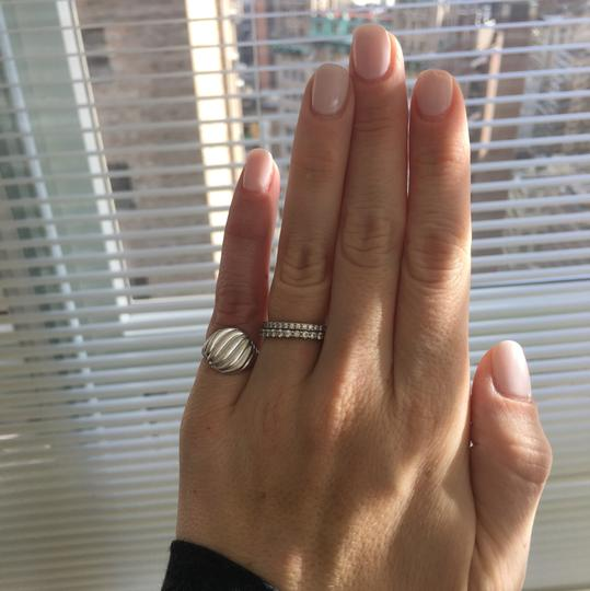 David Yurman Cable Pinky Ring with White Gold