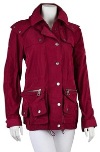 Burberry Brit Hooded Windbreaker Raincoat