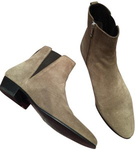 Isabel Marant Suede Ankle grey (greenish grey) Boots