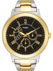 Timex Timex Male Dress Watch T2M423 Two-Tone Analog