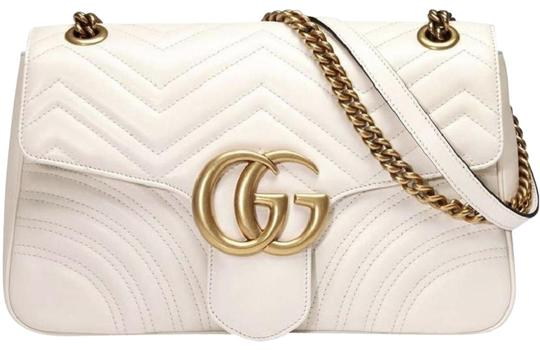 Preload https://item5.tradesy.com/images/gucci-marmont-small-20-matelasse-white-leather-shoulder-bag-23375424-0-1.jpg?width=440&height=440
