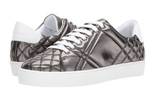 Burberry Westford Low Top Sneaker Metallic Leather Athletic