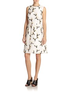 Tory Burch Sleeveless Floral Print Dress