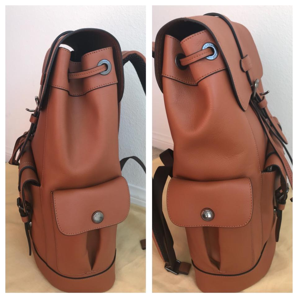Coach   Hudson F23202 Brown Leather Backpack - Tradesy 561b4a13d2d81