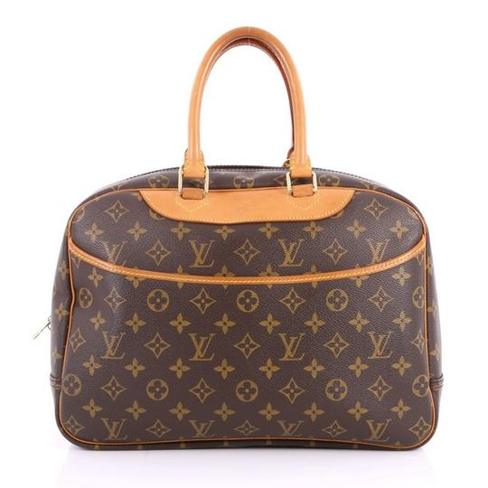 Preload https://img-static.tradesy.com/item/23375702/louis-vuitton-deauville-monogram-large-bowler-866857-brown-coated-canvas-satchel-0-1-540-540.jpg