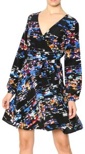 Yumi Kim short dress Multi-colored Wrap Silk on Tradesy