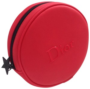 Dior Red Dior cosmetic bag